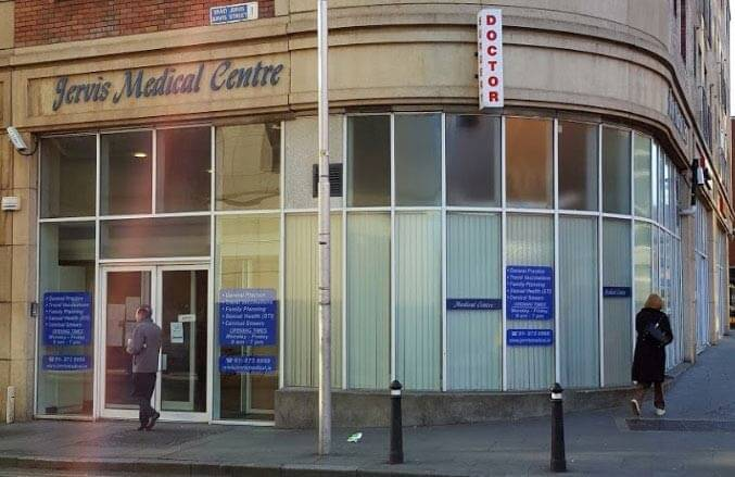 Image of walk-in doctor Dublin GP clinic Jervis Medical Centre